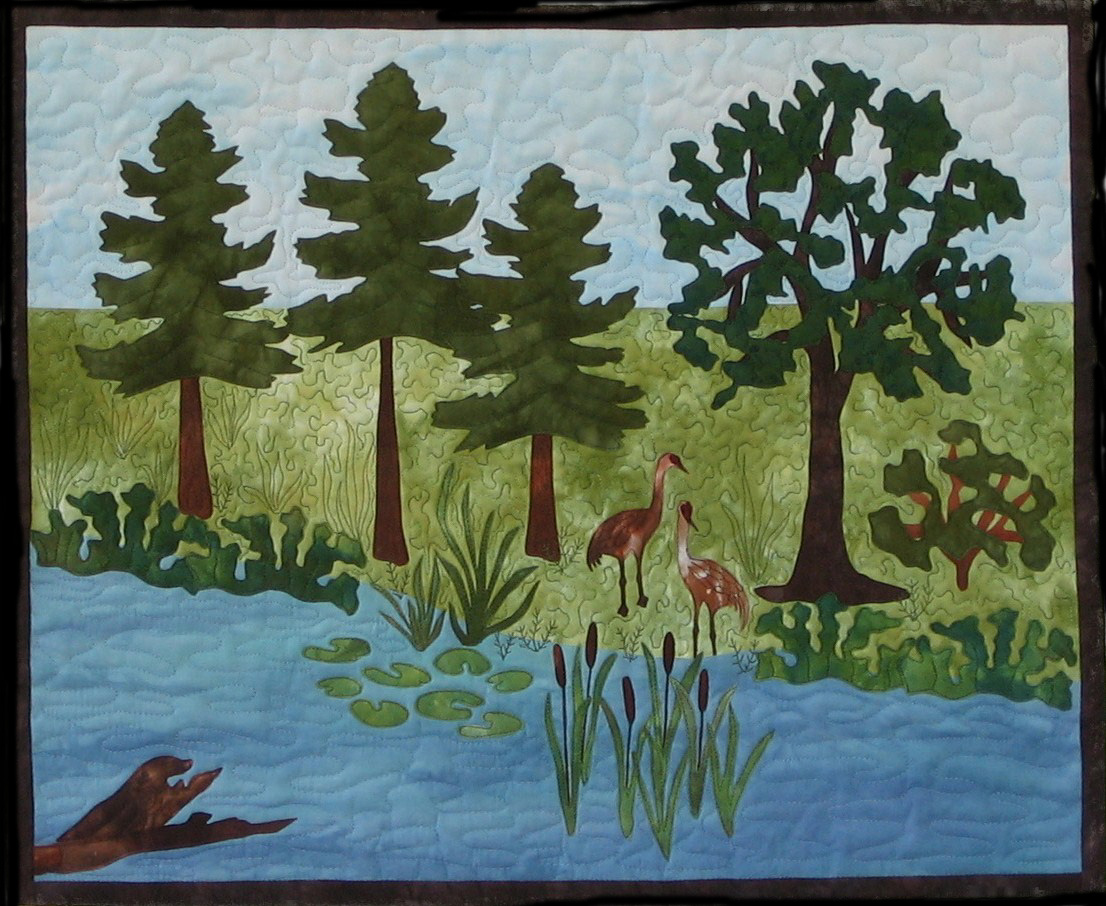 Design your own landscape quilts by karen turckes for Design your own landscape